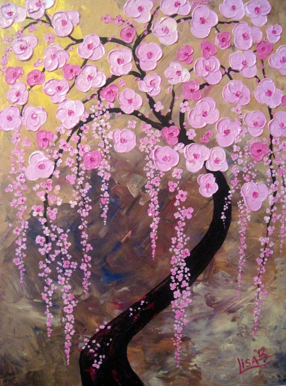 Black Friday 50 OFF Tree of Life Painting Oil by ArtonlineGallery, $185.00