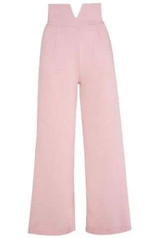 The Victory Trousers - Pink | Tara Starlet AW14. These wide legged, high wasted, vintage inspired trousers and are fabulous find for winter. In three beautiful colours and crepe fabric you'll want every pair!