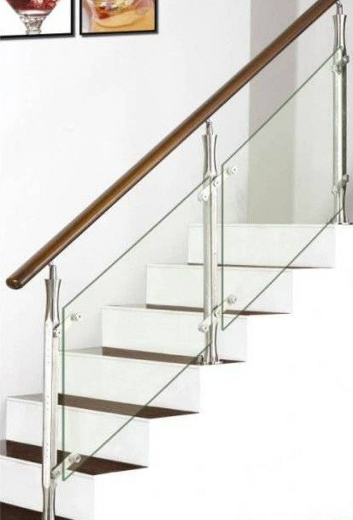 1000 ideas about glass stair railing on pinterest glass for Interior glass railing designs
