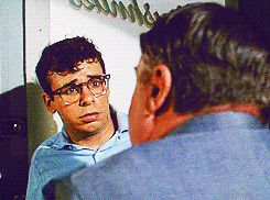 He had the type of laugh that made you want to touch. his. body. | Definitive Proof That Young Rick Moranis Was The Sexiest