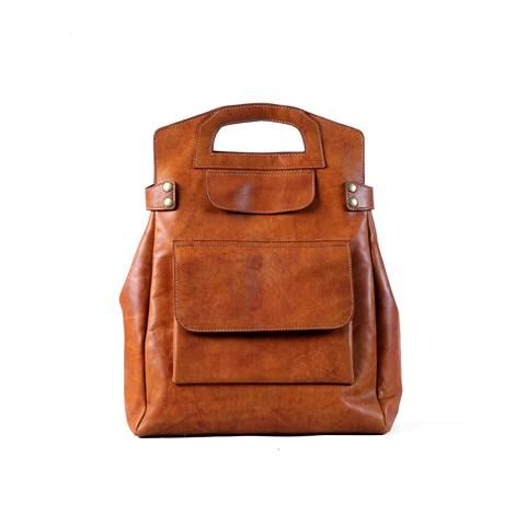Morgan Backpack - Cognac