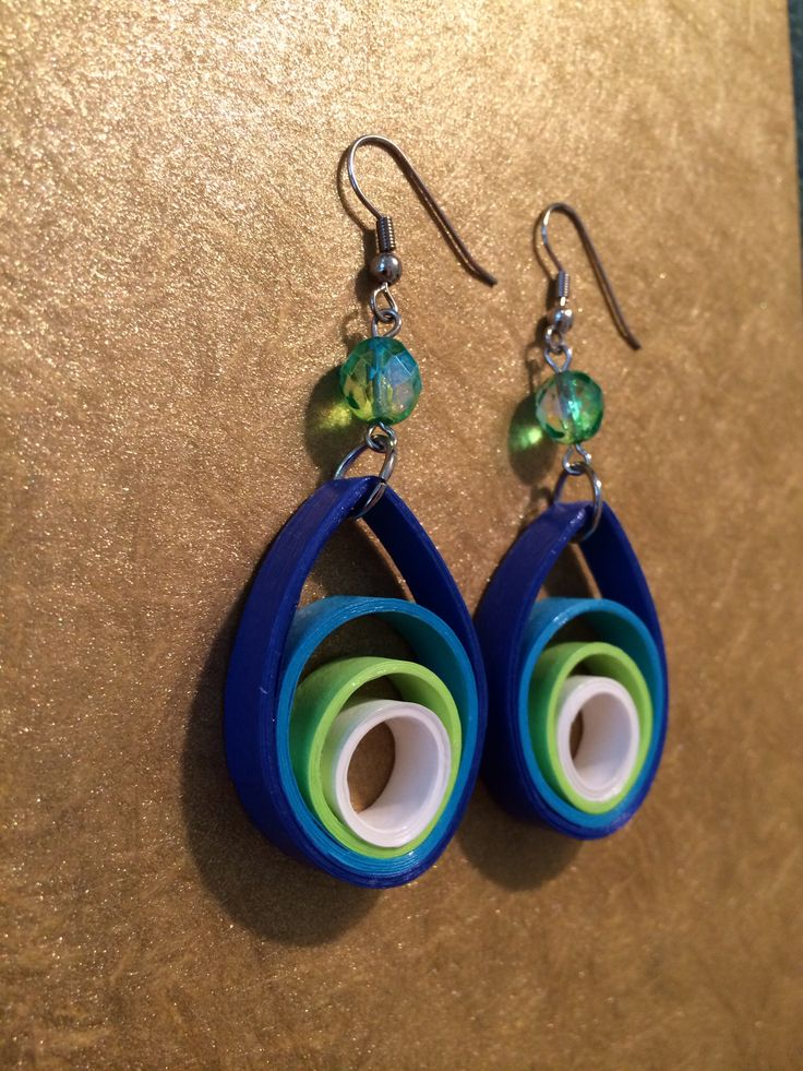 Quilled Earrings                                                       …