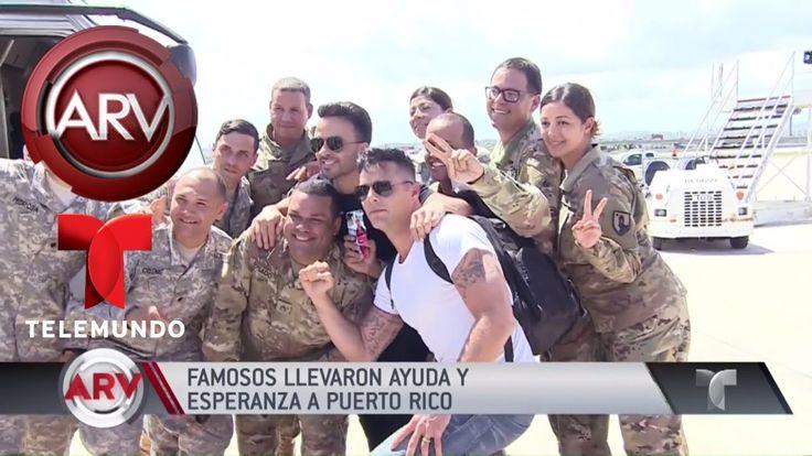 Famosos en Puerto Rico cuentan su jornada de ayuda | Al Rojo Vivo | Tele...