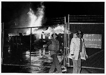 Firefighters Patrolling During 1965 Watts Riots | The Watts Riot ...