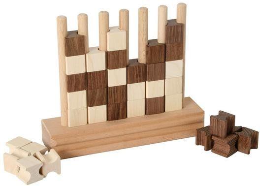 Bartl, Vier gewinnt ,aus Holz Spiel für 2 Personen   3356 / EAN:04032821001573