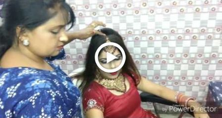 Bridal hair style on thin hairs with duptta dap – #bridal #dap #duptta #Hair #Ha…