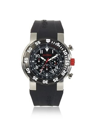 86% OFF red line Men's RL-50010-01 Black Chronograph Stainless Steel Watch