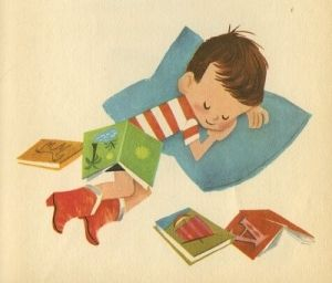 vintage illustration. this is so cute! Can't get enough of this mid century stuff!