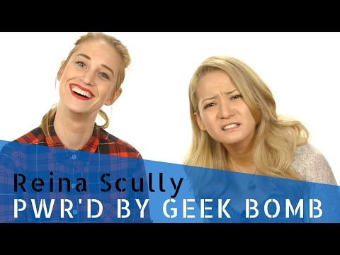 PWR'd with Reina Scully! - YouTube