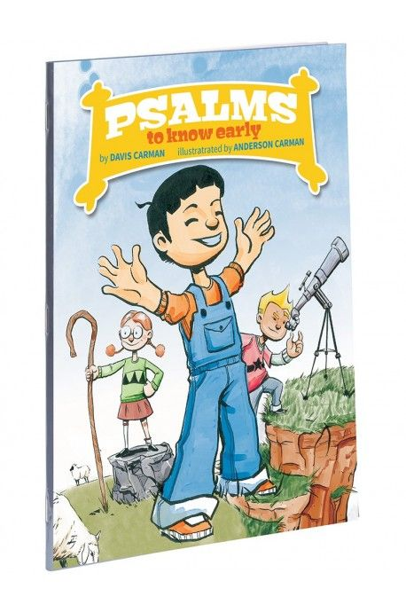 Help your young child fall in love with God as they study beloved Pslalms