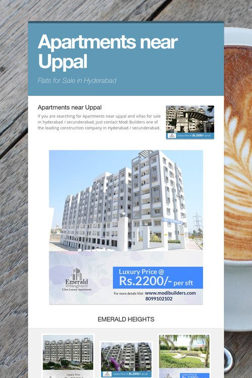 Apartments near Uppal