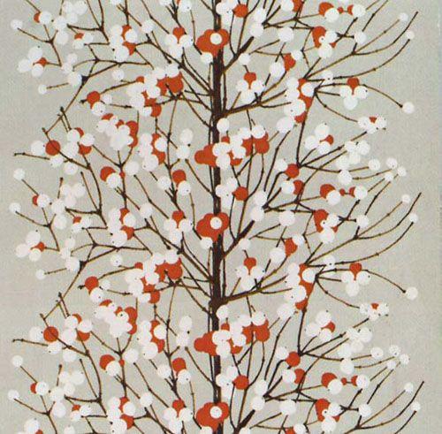 Lumimarja Natural fabric from Marimekko