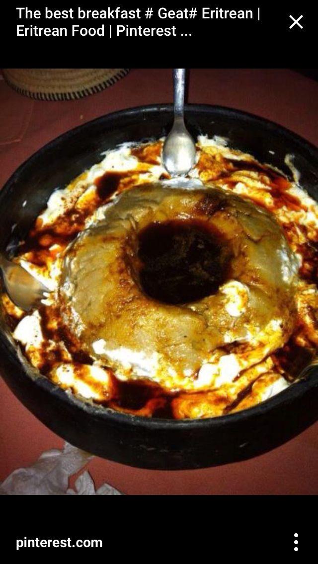 Eritrean breakfast
