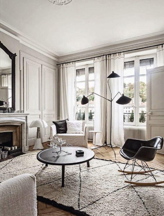38 best Appartements haussmanniens images on Pinterest Bed room