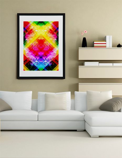 """""""Final Frontier"""", Fine Art Print by Fimbis - From $25.00 - Curioos #fimbis   #Curioos #abstract #colourful #colorful #style #styleblog #fashion #fashionblogger #fashionblog #styleblogger #rainbow #designer #blue #pink #inspire #inspiration #vibrant #interior #inspirational #fblogger #collage #homedecor #homestyle #wallart #geometric #yellow #pink #interiordesign #interiors"""