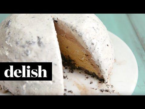Oreogasm Ice Cream Bombe - Cookies N' Cream Ice Cream Cake