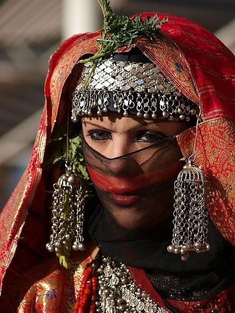 Yemeni bride. The eyes have it.