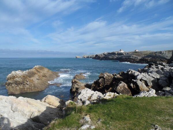 No hay imagen del mar que no sea bonita. Esta vez las vistas son desde Soto de la Marina #Cantabria #inspiracionJyN