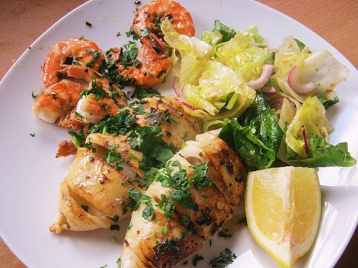 Calamari alla griglia, ein sehr leckeres Rezept aus der Kategorie Fisch. Bewertungen: 52. Durchschnitt: Ø 4,3.