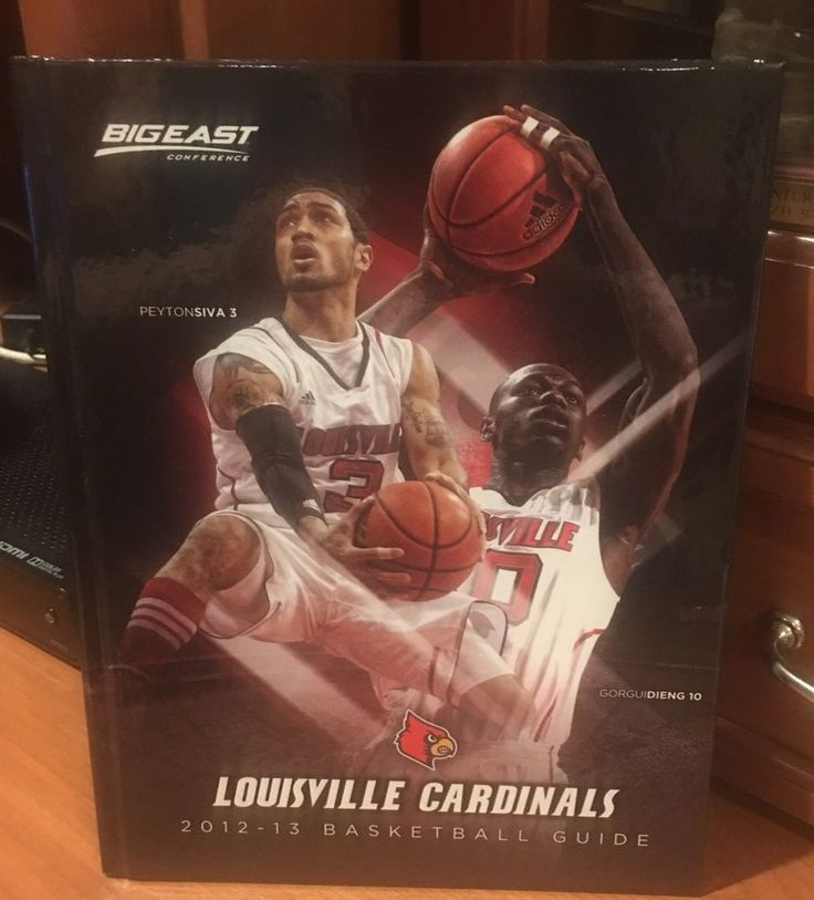 2012 2013 LOUISVILLE CARDINALS NATIONAL CHAMPIONS BASKETBALL GUIDE  | eBay