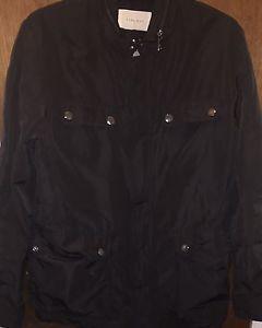 NWOT Zara Man Large Black Polyester Mens Rain Jacket - Retail $99    eBay