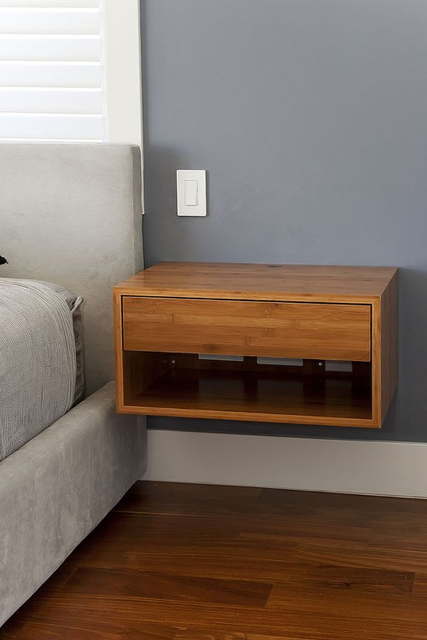 Floating Night Stand M s. Best 25  Floating nightstand ideas on Pinterest   Floating