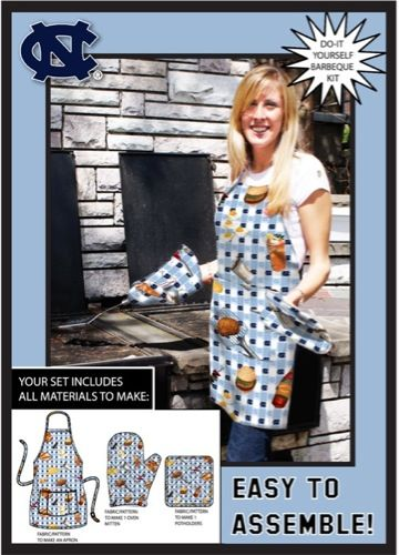 14 best college do it yourself kits tote bags aprons and more university of north carolina tarheels do it yourself bbq kit buy now http solutioingenieria Gallery