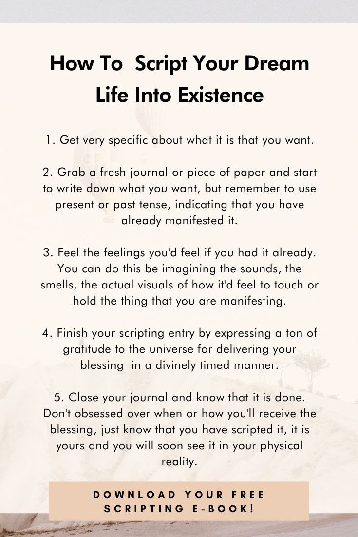 11 Scripting Journal Prompts To Manifest Your Dream Life Journal Prompts Dream Life Manifestation