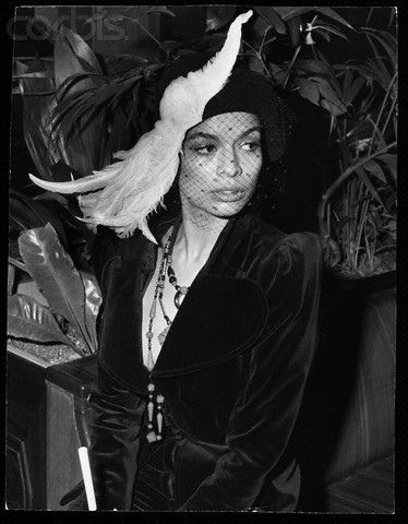 Bianca Jagger. Photo by Mike Lawn, 1972