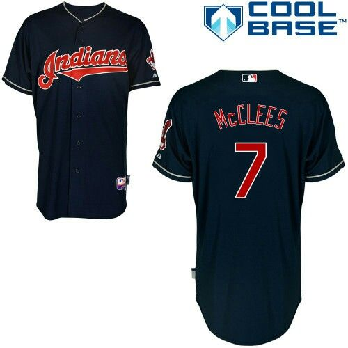docktow mens indians custom new baseball jersey alternate navy blue embroidered jersey with the name and number of your favorite player past or presen