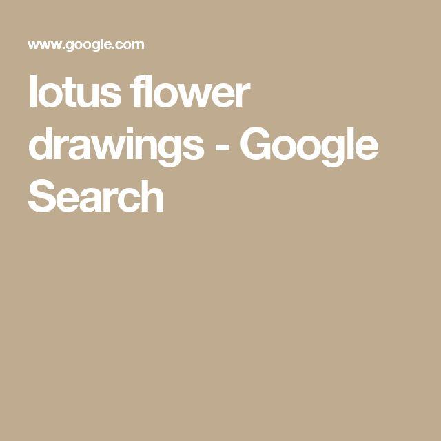 lotus flower drawings - Google Search