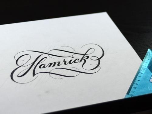 "Ryan Hamrick - ""Hamrick Script"""