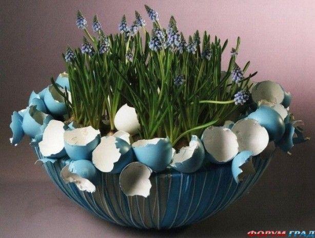 ...Blauw voor Pasen ... ....om zelf te maken...