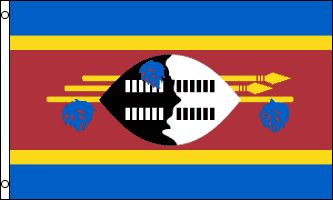 Flags Importer - Swaziland Flag 3x5ft Poly, $9.95 (http://www.flagsimporter.com/swaziland-flag-3x5ft-poly/)