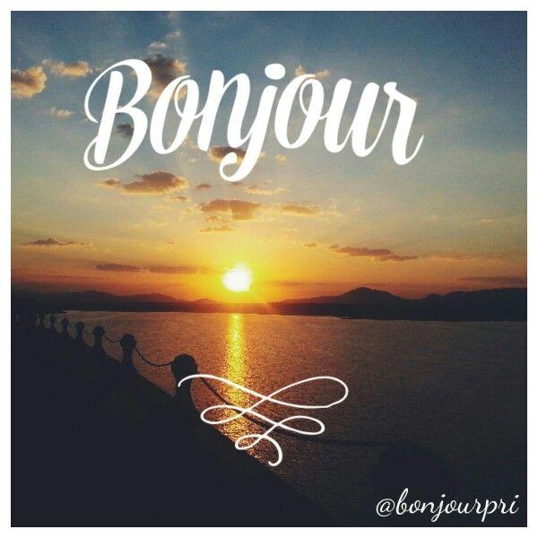 Bom dia @bonjourpri #bomdia