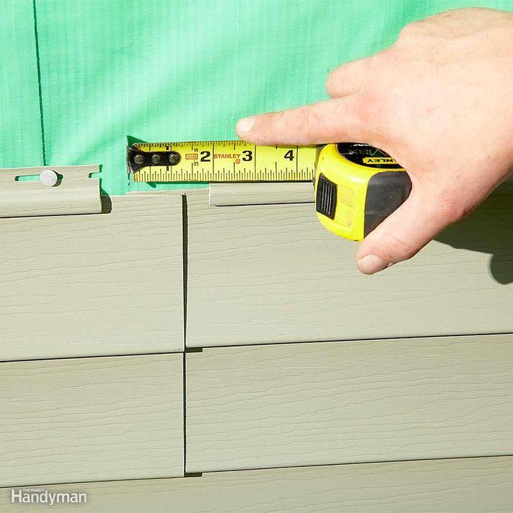 13 Simple Vinyl Siding Installation Tips Vinyl Siding Vinyl Siding Installation Vinyl Siding Repair