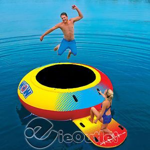 NEW-WOW-10-AIR-INFLATABLE-WATER-JUMPER-BOUNCER-RAFT-FLOAT-TUBE-ISLAND-TRAMPOLINE