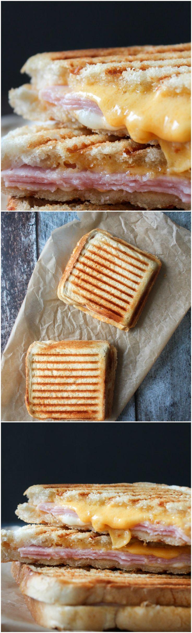 Ham And Cheese Grilled Cheese - Ham And Cheese Toast - Grilled Cheese - Chili Mayo - Spicy Grilled Cheese - Easy Lunch - Easy Dinner - Bread