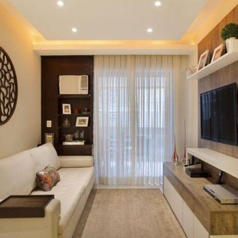 Sala de estar mais um inspira o bacana para decorar o - Decorar apartamento pequeno ...