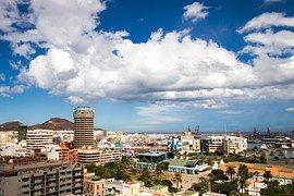 Las Palmas, Kanárské Ostrovy, Město