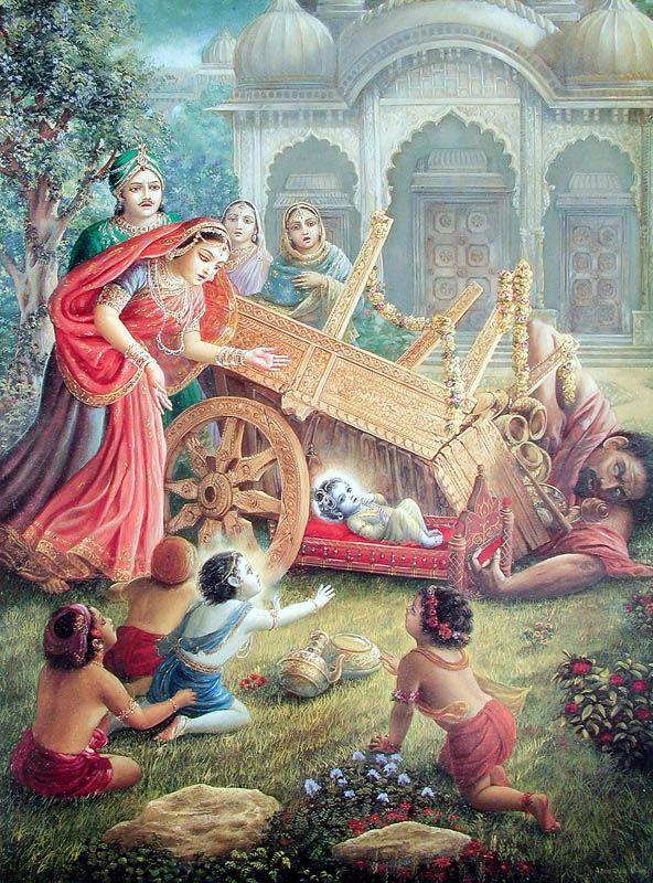 © Artwork courtesy of The Bhaktivedanta Book Trust & The Bhaktivedanta Book Trust International Inc. Krishna.com. Used with permission.