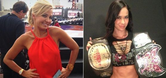 Michelle Beadle had backstage incident with CM Punk's girlfriend ...