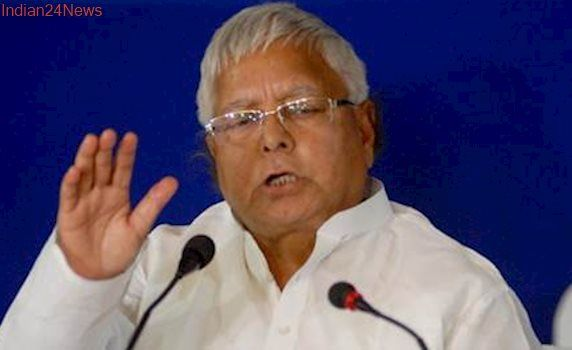 BJP asks Nitish Kumar to act against Lalu Prasad Yadav