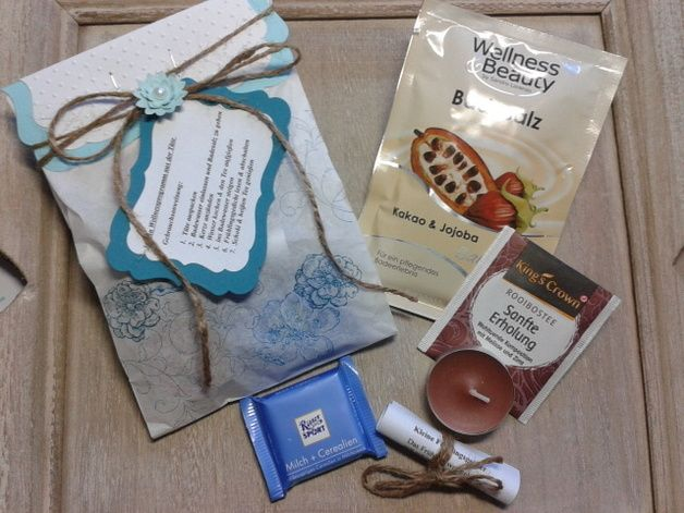 Beauty & Wellness - Wellnesstüte- 30 min. Wellness aus der Tüte - ein Designerstück von Tanjas-Kreativecke bei DaWanda