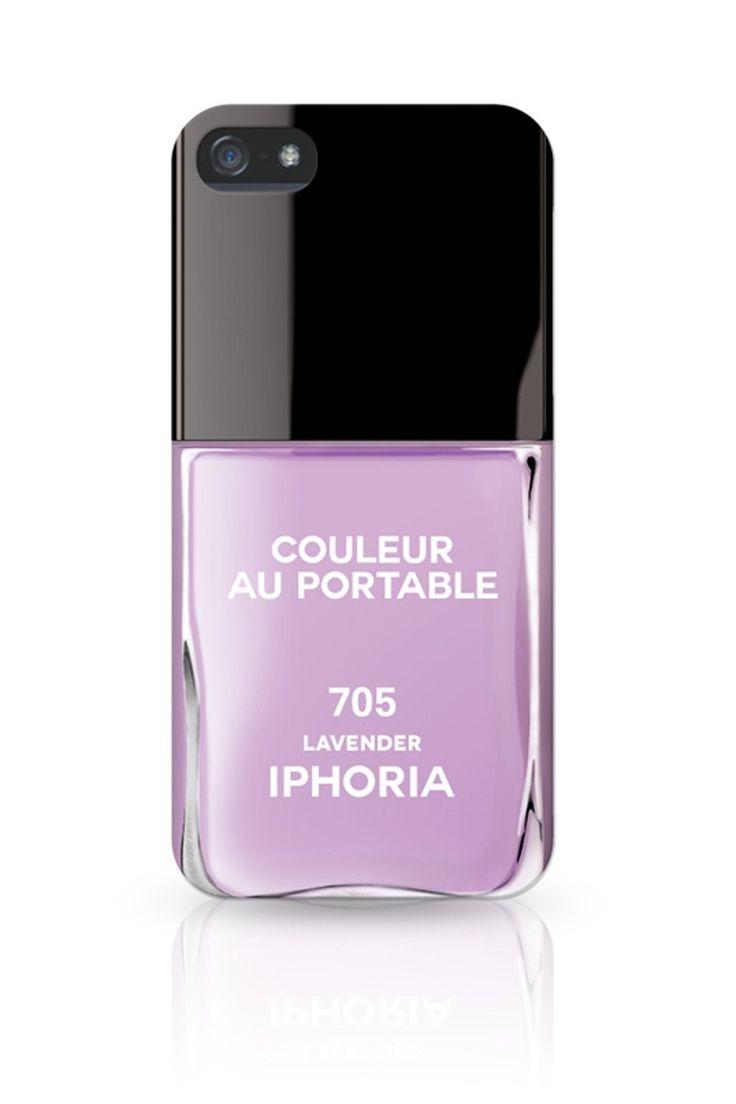 IPHORIA COLLECTION Vernis Lavender für Apple IPhone 5. www.styleserver.de