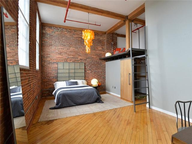 Beautiful bedroom in a loft at the Werthan Lofts in Nashville s Germantown     279 900. 75 best Cool Nashville Homes For Sale images on Pinterest
