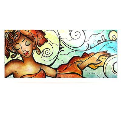 "East Urban Home Dancing 'Cubana' Graphic Art Print on Metal Size: 16"" H x 20"" W x 1"" D"