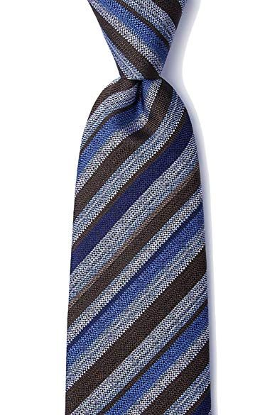 f9fe035d478b Men's 100% Silk Modern Carns Repp Stripe XL Extra Long Tie Necktie Review
