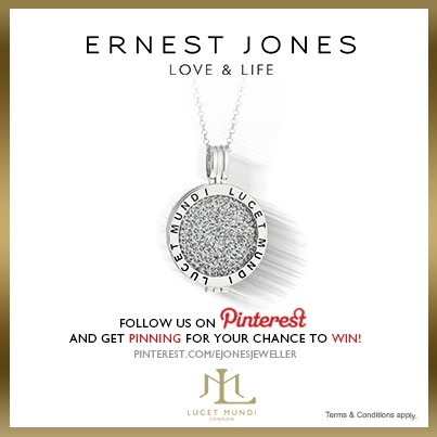 Wednesday 12th June 2013 -  #pinittowinit One winner will be drawn on June 12th 2013. Your Facebook or Twitter account MUST BE linked to your Pinterest profile! Terms and conditions: http://www.ernestjones.co.uk/webstore/static/customerservice/terms_and_conditions.do#pinit
