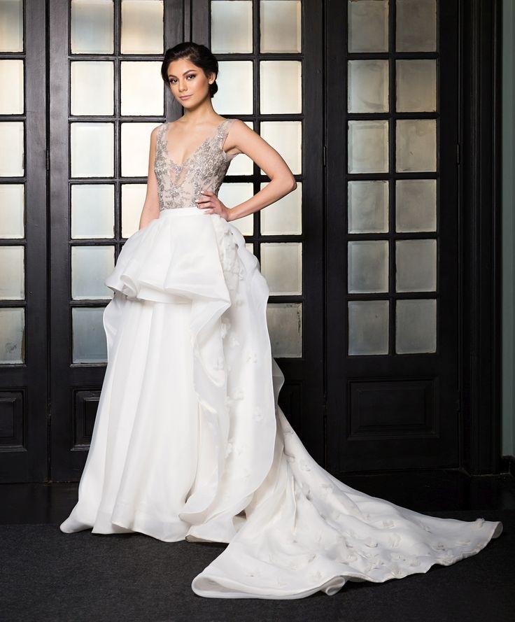 Ines Wedding Gown (Extra Skirt) - Rochia de mireasa Ines (fusta suplimentara)